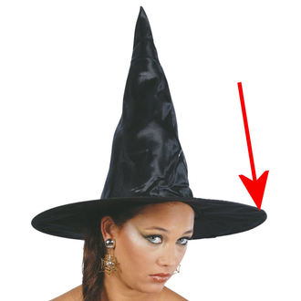 Witch Hat BLACK WITCH - DAMAGED
