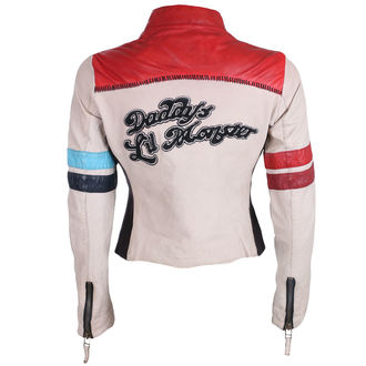 leather jacket women's Suicide Squad - Daddy's Lil Monster -