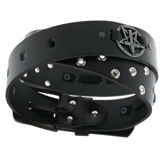 Belt Pentagram Cross, JM LEATHER