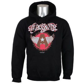 hoodie men's Aerosmith - Flying A Logo - HYBRIS, HYBRIS, Aerosmith