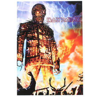 Postcard Iron Maiden - ROCK OFF, ROCK OFF, Iron Maiden