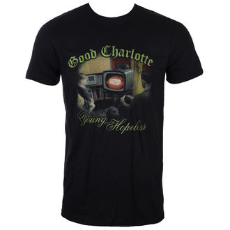 t-shirt metal men's Good Charlotte - YOUNG AND HOPELESS - LIVE NATION, LIVE NATION, Good Charlotte
