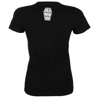 t-shirt hardcore women's - The Gravedigger - Akumu Ink - 13TW07