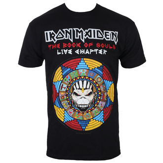 t-shirt metal men's Iron Maiden - BOS Live - ROCK OFF, ROCK OFF, Iron Maiden