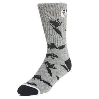 Socks SULLEN - MACHINED - GREY, SULLEN