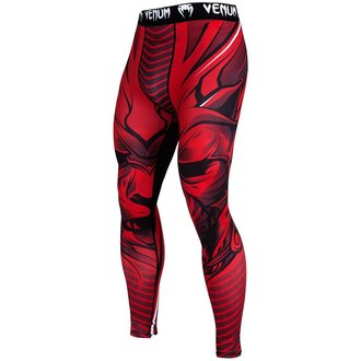Men's work-out leggings VENUM - Bloody Roar - Red, VENUM