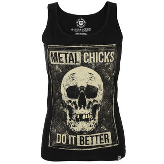 Top Women's METAL CHICKS DO IT BETTER, METAL CHICKS DO IT BETTER