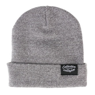 Beanie COLLECTIVE COLLAPSE - Vegan - heather grey, COLLECTIVE COLLAPSE