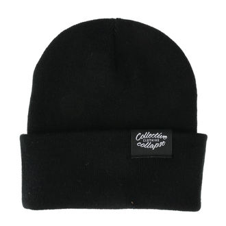 Beanie COLLECTIVE COLLAPSE - Vegan - black, COLLECTIVE COLLAPSE
