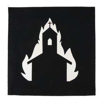 Large Patch Church in flames