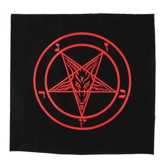 Large Patch Baphomet - pentagram