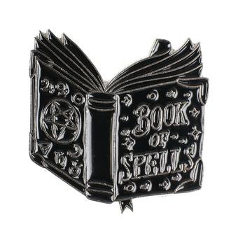 Metal tack KILLSTAR - BOOK OF SPELLS - BLACK - K-MIS-U-2362