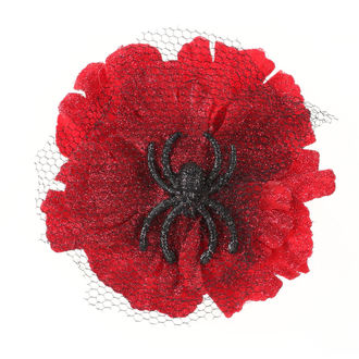 Hair clip Spider - Red