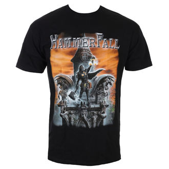 t-shirt metal men's Hammerfall - Built To Last - NAPALM RECORDS, NAPALM RECORDS, Hammerfall