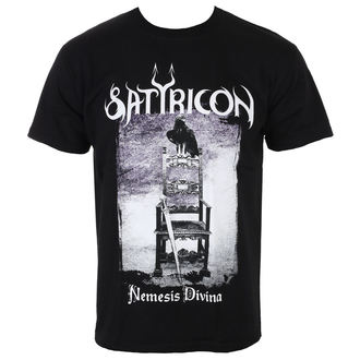 t-shirt metal men's Satyricon - Nemesis Divina - NAPALM RECORDS, NAPALM RECORDS, Satyricon