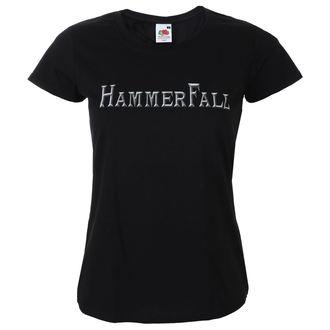 t-shirt metal women's Hammerfall - Logo - NAPALM RECORDS, NAPALM RECORDS, Hammerfall