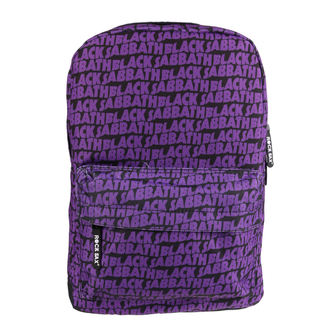 Backpack BLACK SABBATH - LOGO ALLOVER - CLASSIC - RSBVBS01