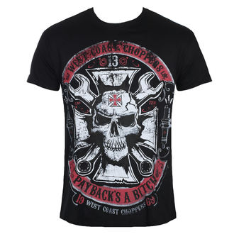 t-shirt men's - MECHANIC - West Coast Choppers