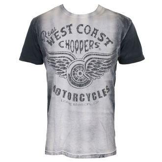 t-shirt men's - REAL - West Coast Choppers
