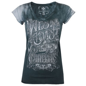 t-shirt women's - LOCK UP - West Coast Choppers