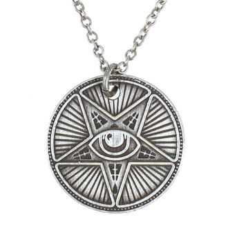 Pendant Necklace DISTURBIA - COIN, DISTURBIA