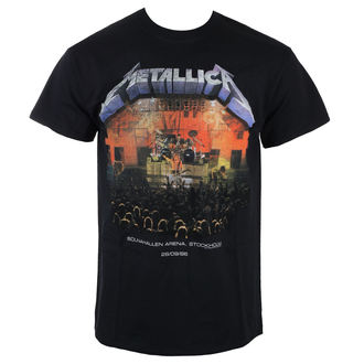 t-shirt metal men's Metallica - Stockholm 86 -, Metallica