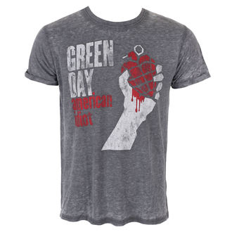 t-shirt metal men's Green Day - American Idiot Vintage - ROCK OFF, ROCK OFF, Green Day