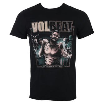 t-shirt metal men's Volbeat - Seal The Deal Cover - ROCK OFF, ROCK OFF, Volbeat
