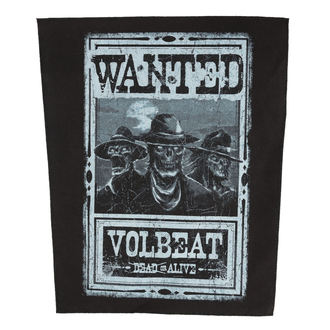Patch VOLBEAT - WANTED - ROCK OFF, ROCK OFF, Volbeat