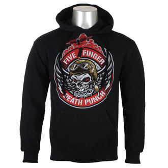 hoodie men's Five Finger Death Punch - Black - ROCK OFF, ROCK OFF, Five Finger Death Punch