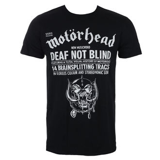 t-shirt metal men's Motörhead - Deaf Not Blind - ROCK OFF, ROCK OFF, Motörhead