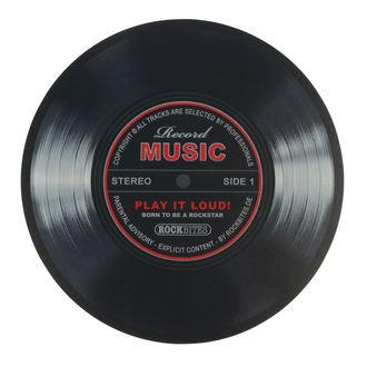 Mouse Pad Record Music - Rockbites, Rockbites