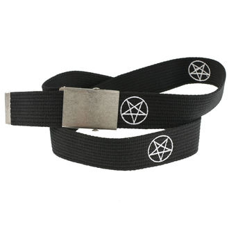 Belt Pentagram, BLACK & METAL