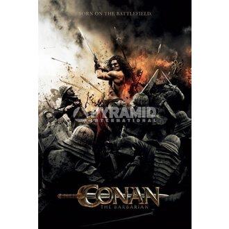 poster Barbar Conan - Battlefield - PYRAMID POSTERS - Unpacked, PYRAMID POSTERS