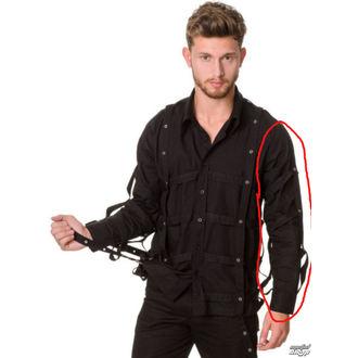 shirt men DEAD THREADS - GS9842 BLACK - DAMAGED, DEAD THREADS