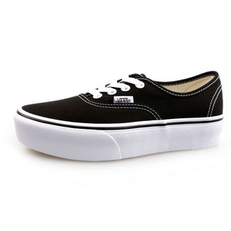 low sneakers women's - UA AUTHENTIC PLATFORM Black - VANS, VANS