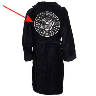 bathrobe Ramones - Biker Style - BLACK - DAMAGED, Ramones