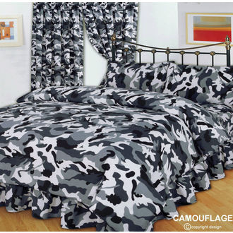 bedding CAMOUFLAGE BLACK