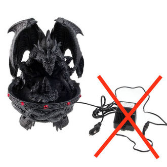 decoration Dragon font with smoker / led - DAMAGED, NNM
