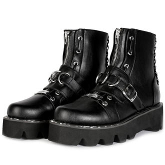 wedge boots women's - BUCKLE - DISTURBIA