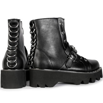 wedge boots women's - BUCKLE - DISTURBIA, DISTURBIA
