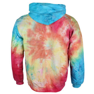 hoodie unisex Jimi Hendrix - AUTHENTIC TYE DIE SWIRL - BRAVADO, BRAVADO, Jimi Hendrix