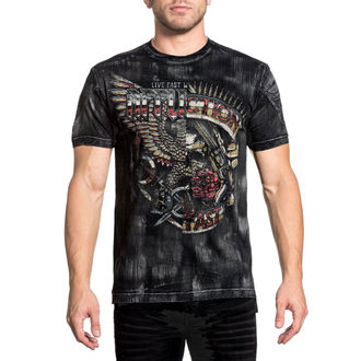 t-shirt hardcore men's - Metal Split - AFFLICTION, AFFLICTION
