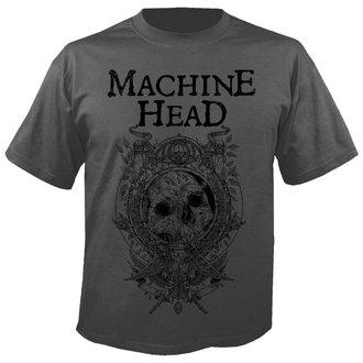 t-shirt metal men's Machine Head - Clock GREY - NUCLEAR BLAST, NUCLEAR BLAST, Machine Head