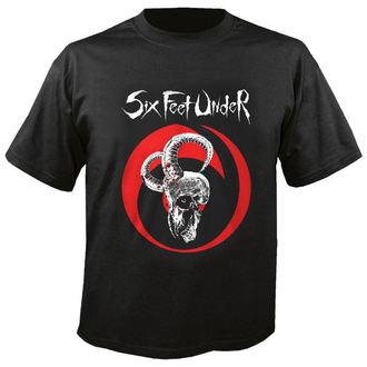 t-shirt metal men's Six Feet Under - Goatskull - NUCLEAR BLAST, NUCLEAR BLAST, Six Feet Under