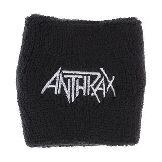 wristband ANTHRAX - LOGO - RAZAMATAZ, RAZAMATAZ, Anthrax