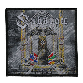 t-shirt metal men's Sabaton - Heroes Poland - CARTON