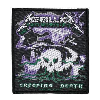 patch METALLICA - CREEPING DEATH - RAZAMATAZ - SP2937