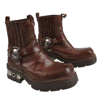 leather boots men's - VENTURE AVIADOR - NEW ROCK, NEW ROCK