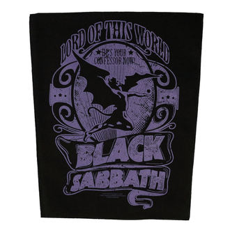 patch large BLACK SABBATH - LORD OF THIS WORLD - RAZAMATAZ, RAZAMATAZ, Black Sabbath